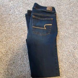 New American Eagle kick boot jeans